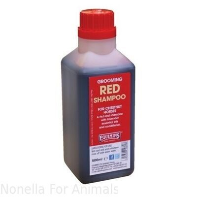 Equimins Red Shampoo for Chestnuts jerrycan, 5 litre