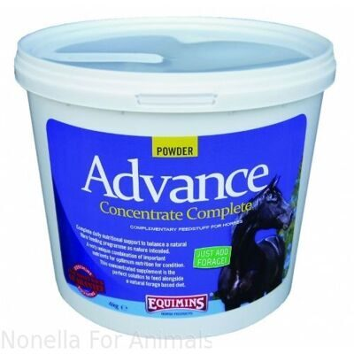 Equimins Advance Concentrate Complete Powder tub, 4 kg