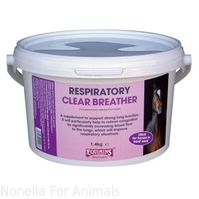 Equimins Clear Breather Supplement tub, 1.4 kg