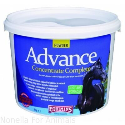 Equimins Advance Concentrate Complete Powder tub, 2 kg