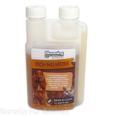 Blooming Pets Itch No More Herbal Extract bottle, 250 ml