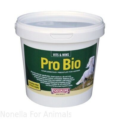 Equimins Pro-Bio Probiotic Supplement tub, 1,5 kg