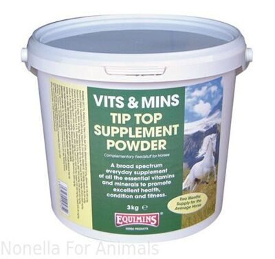 Equimins Tip Top Supplement Powder tub, 25 kg