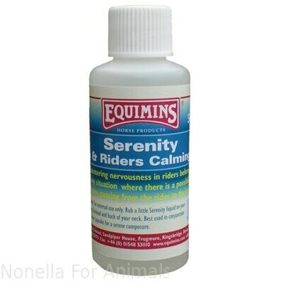 Equimins Serenity Horse & Riders Calming Fluid Pocket Size, 50 ml