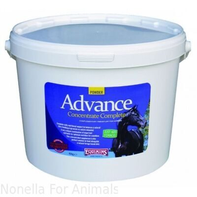 Equimins Advance Concentrate Complete Powder tub, 10 kg