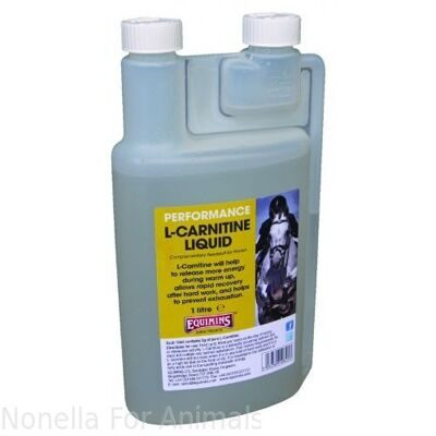Equimins L-Carnitine Liquid bottle, 1 litre