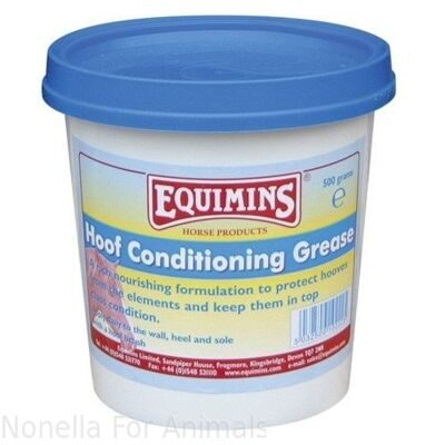 Equimins Hoof Conditioning Grease tub, 500 g