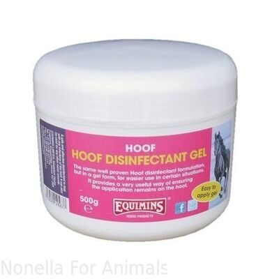 Equimins Hoof Disinfectant Gel tub, 500 g