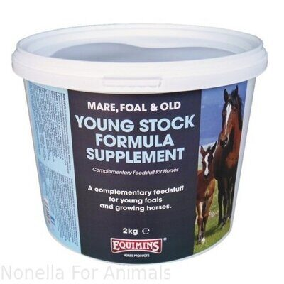 Equimins Young Stock Formula Supplement tub, 4 kg