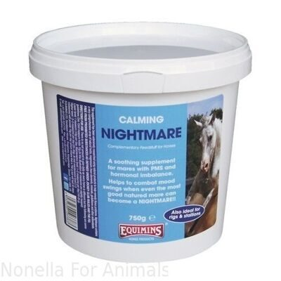 Equimins Nightmare Hormonal Mare Supplement tub, 1.5 kg