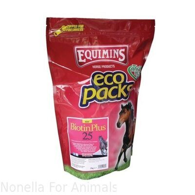 Equimins Biotin Plus 25 Eco Pack, 2 kg