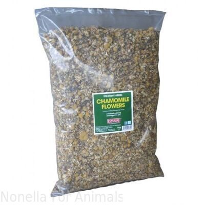 Equimins Straight Herbs Chamomile Flowers bag, 1 kg