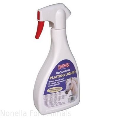 Equimins Plaiting Liquid Trigger Spray, 500 ml