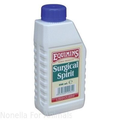 Equimins Surgical Spirit bottle, 500 ml