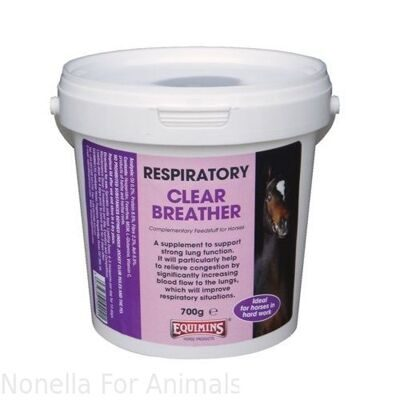 Equimins Clear Breather Supplement tub, 700 g