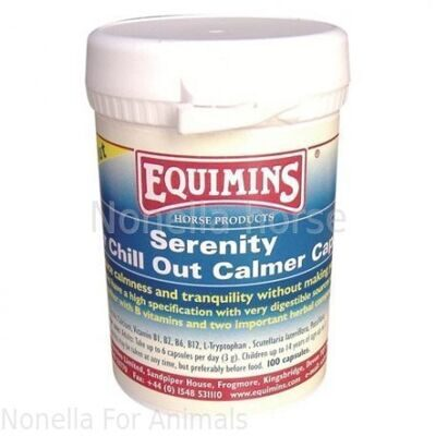 Equimins Serenity Riders Chill Out Calmer Capsules 100 capsules
