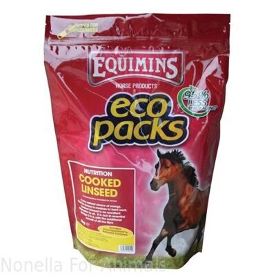 Equimins Cooked Linseed bag, 10 kg
