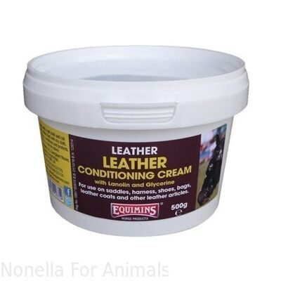 Equimins Leather Conditioning Cream tub, 250 g