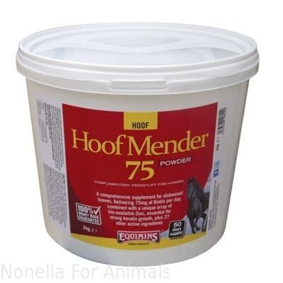 Equimins Hoof Mender 75 Supplement Powder bag, 20 kg