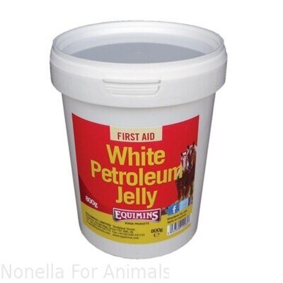 Equimins White Petroleum Jelly tub, 800 g