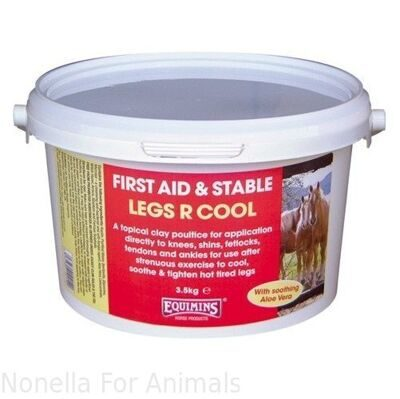 Equimins Legs R Cool Cooling Clay Compound tub, 3.5 kg