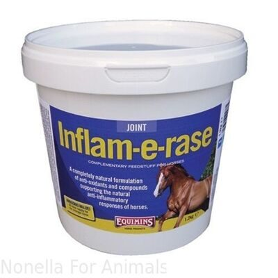 Equimins Inflam-E-Rase (Anti-Inflammatory Supplement) tub, 1.2 kg