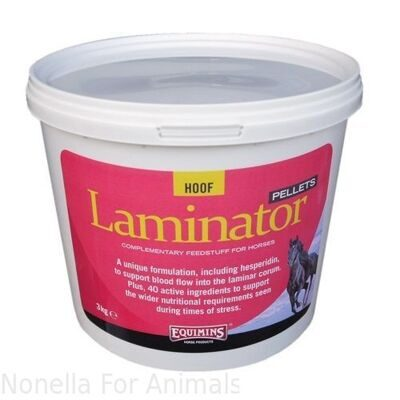 Equimins Laminator Supplement Pellets tub, 3 kg