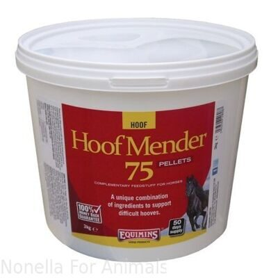 Equimins Hoof Mender 75 Supplement Pellets bag, 20 kg