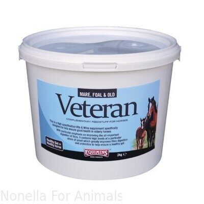 Equimins Veteran Vits & Mins Supplement tub, 2 kg