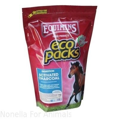 Equimins Charcoal (Activated) Eco Pack, 1 kg