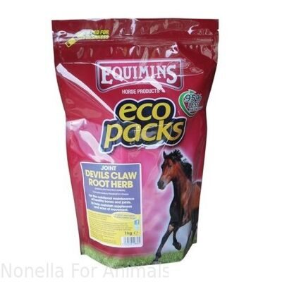 Equimins Devils Claw Root Herbs Eco Pack, 1 kg